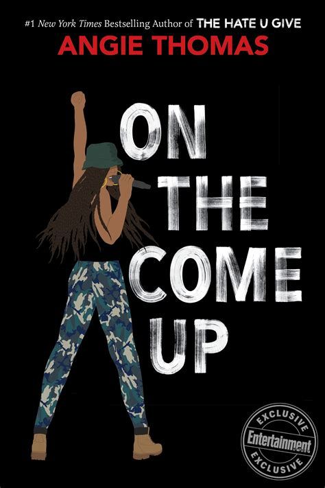 1406384763 the hate u give the hate u give author angie thomas unveils on the come up