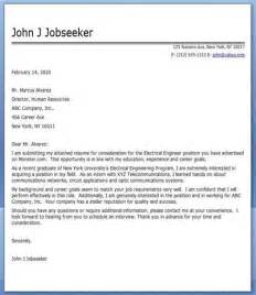 Cover Letter Format For Electrical Engineer Doc Electrical Engineer Cover Letter