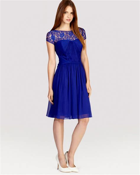 coast dress lisanne in blue lyst