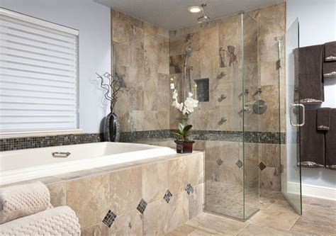 Travertine Bathroom Tile Ideas bathroom home renovation project winter springs fl