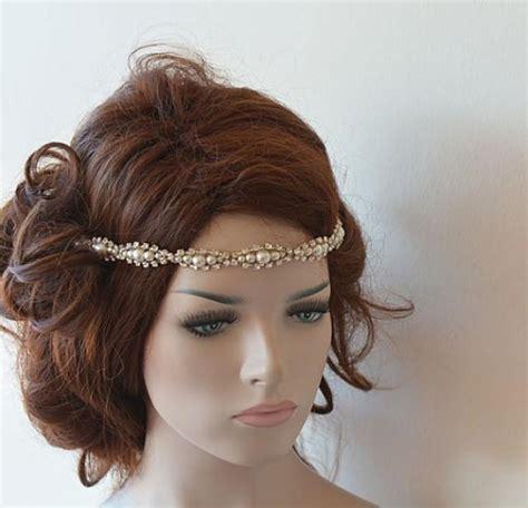 Wedding Hair Accessories Pearl by Wedding Hair Accessories Rhinestone And Pearl Headband