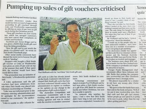 Gift Card Program For Small Business - small business retailers need good gift card software in wake of dick smith collapse