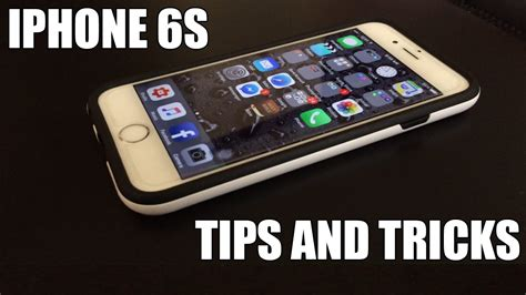 iphone 6s and tricks