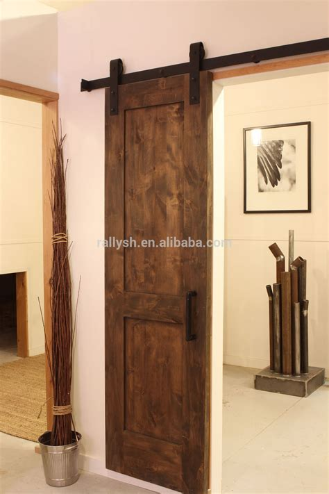 Sliding Door Hardware Barn 6 6ft Modern Sliding Barn Door Hardware Interior Sliding Wooden Door Kit Buy Wood Barn Doors