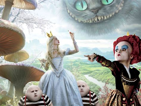 eurekanos alice wonderland 2010 wallpaper 30635830 fanpop