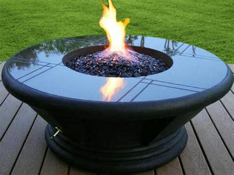 Portable Propane Outdoor Fire Pit Fire Pits Pinterest Backyard Propane Pit