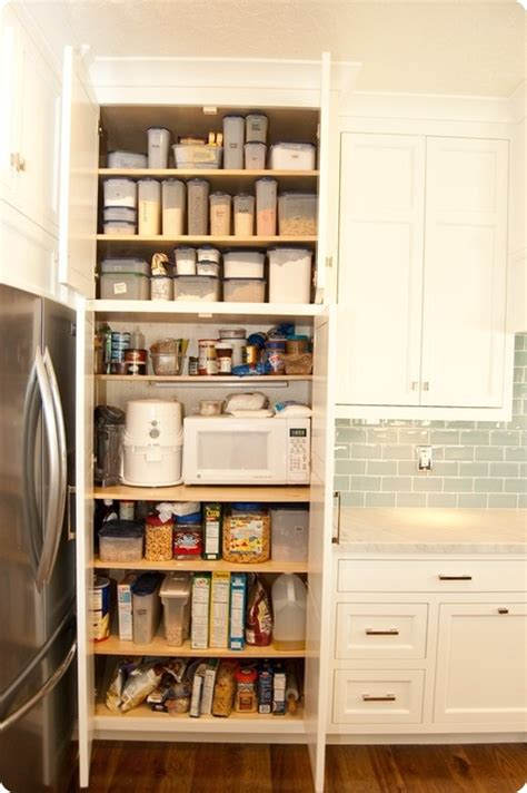built in pantry microwave hidden in built in pantry smart home pinterest