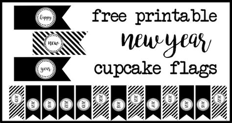 happy new year cupcake toppers paper trail design happy new year cupcake toppers paper trail design