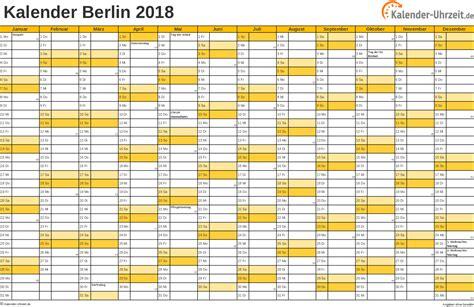 feiertage 2018 berlin kalender
