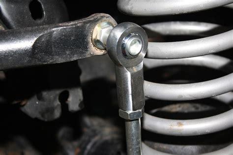 adjustable front sway bar end links jeep jk wrangler w