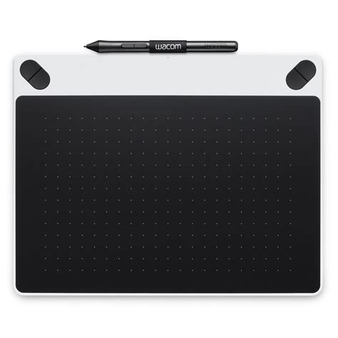 tavola grafica pc wacom intuos draw small blanc tablette graphique wacom