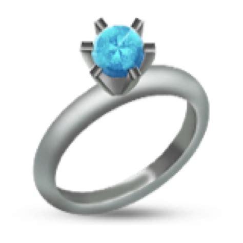 Wedding Ring Emoji by Ring Emoji Trulyjai