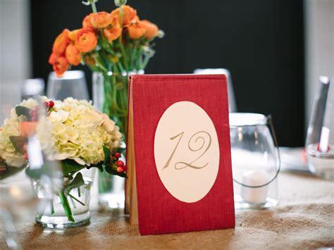 Wedding Table Number Ideas Rustic Diy Autumn Wedding On A Budget Entertaining Diy Ideas Recipes