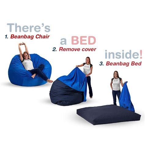 Corduroy Bean Bag Bed by Size Bean Bag Chair Bed In Royal Blue Corduroy For