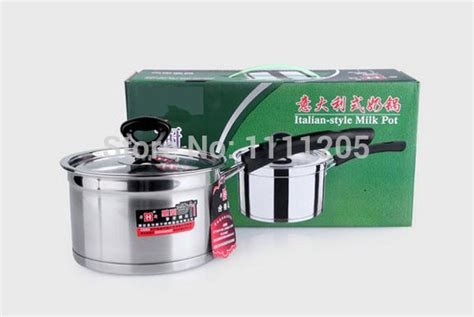 induction cooking milk milk soup pot stainless steel layer 16cm pasta stock pot pan for induction cooker cooking