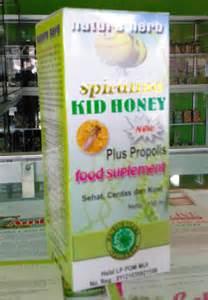 Madu Anak Syifa Mbelit Sembelit Murah spirulina kid s honey plus propolis toko murah