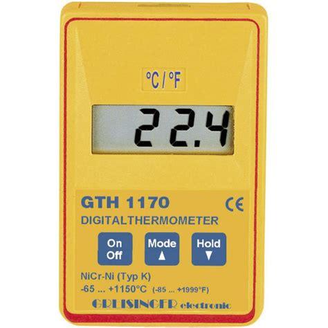 Termometer Gula thermom 232 tre de pr 233 cision rapide gth 1170 greisinger