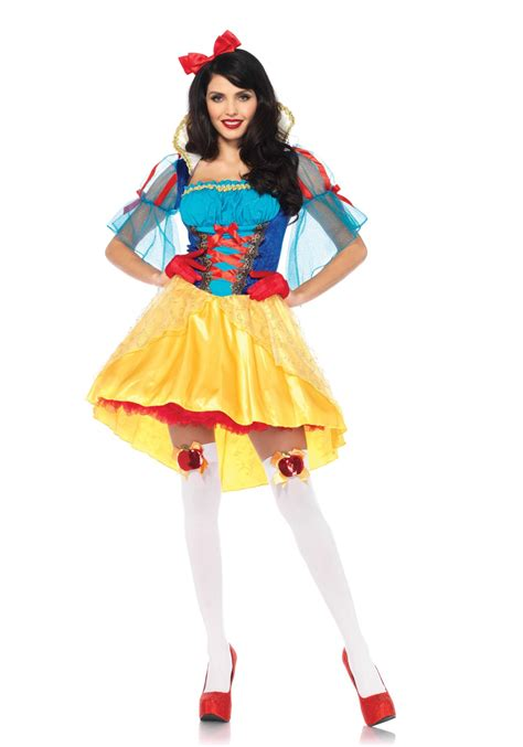 Model Snow Hollow Velvet 2pc storybook snow white includes velvet and satin high low peasant dress with stay up collar