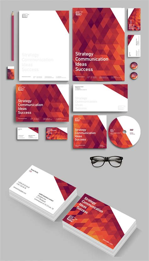 corporate layout inspiration pbc corporate identity design by attila horvath darkoo