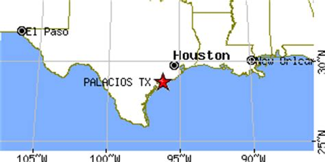 palacios texas map palacios texas tx population data races housing economy