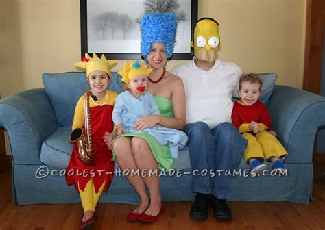 simpsons family costumes