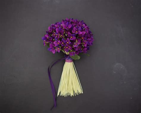 wedding bouquet violets violets bouquet flowers by the vase madeit au