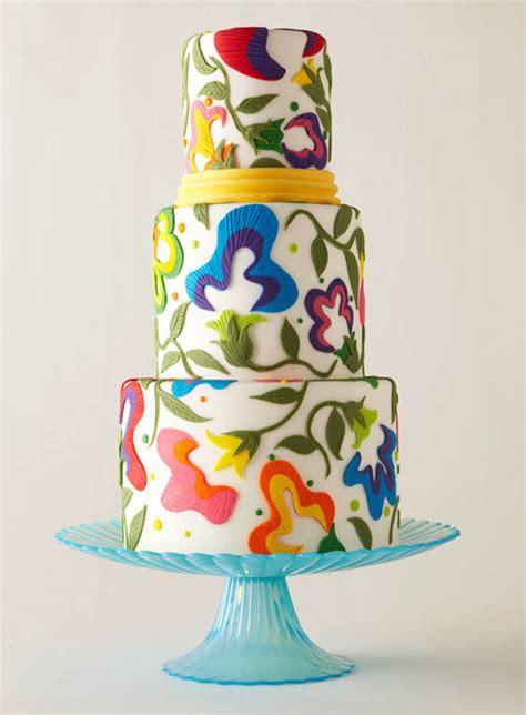 Colourfull Cake 10 colorful wedding cakes