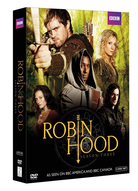 review robin hood season three on dvd comicmix