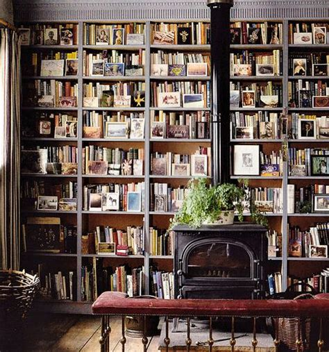 home interior books books go well with a wood stove library love pinterest
