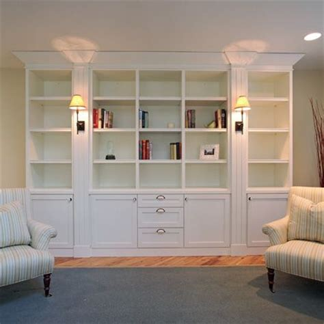 Bookshelves Stylish White Built In Bookshelf Design Plans Built In White Bookcases