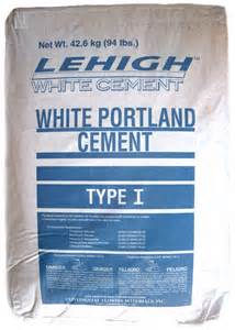 Home Depot Picture Light White Portland Cement Type I Lehigh