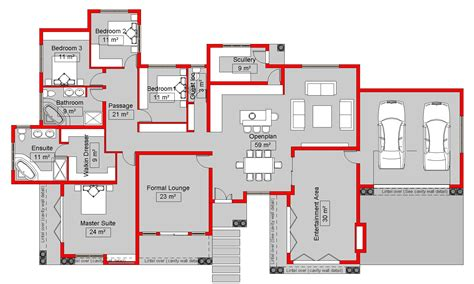 my house plans south 4 bedroom house plans house style and