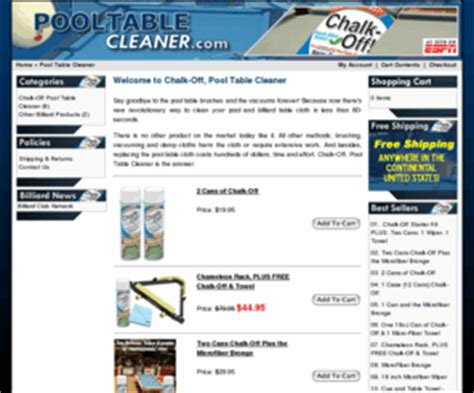 pooltablecleaner chalk pool table cleaner