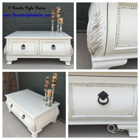 diy furniture shabby chic coffee table painted