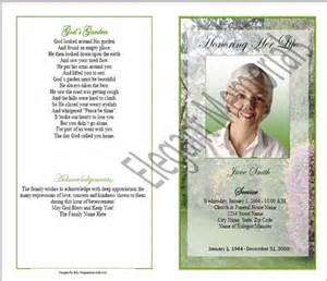 funeral booklets sle funeral program memorial booklet sles funeral programs