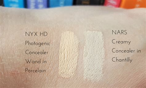 Nyx Concealer Wand nyx hd photogenic concealer wand review swatches the