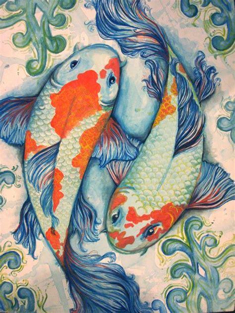 tattoo ikan koi simple ikan koi by pamtrick jpg 600 215 800 bird s eye view