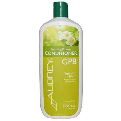 protein conditioner organics gpb balancing protein conditioner