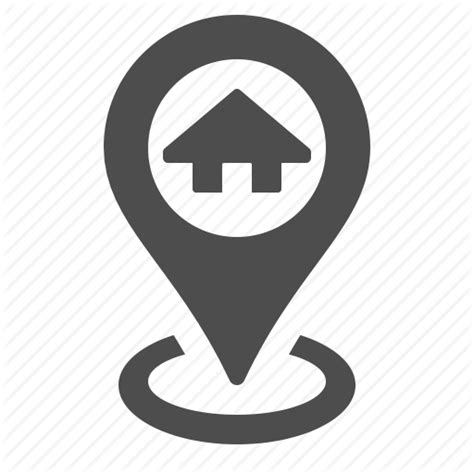 gps home house location marker navigation real