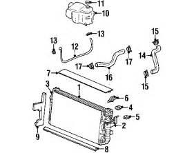 2001 Pontiac Bonneville Parts Parts 174 Pontiac Cooling System Radiator Partnumber