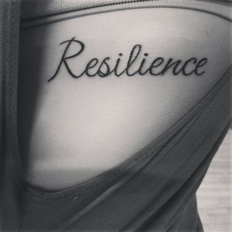 resilience tattoo pinterest 12 best quot resilient quot tattoos images on pinterest