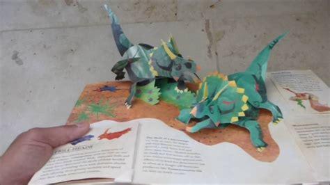 encyclopedia prehistorica dinosaurs the encyclopedia prehistorica dinosaurs pop up book youtube