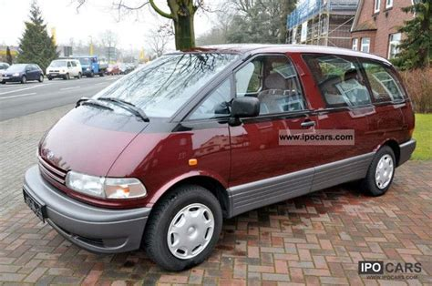 Toyota Previa 1996 1996 Toyota Previa Information And Photos Momentcar