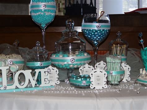 Bar Buffet Supplies Blue Buffet Wedding Ideas