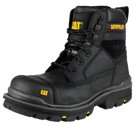 Sepatu Boots Safety Caterpilar Holton Steel Toe 4 mens cat caterpillar gravel steel toe cap safety work