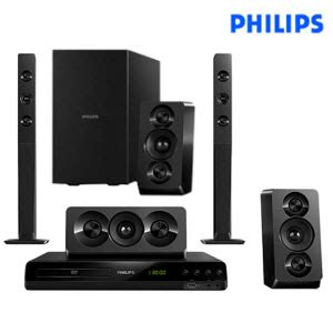 philips htd5550 94 5 1 home theatre system rs 11924 snapdeal