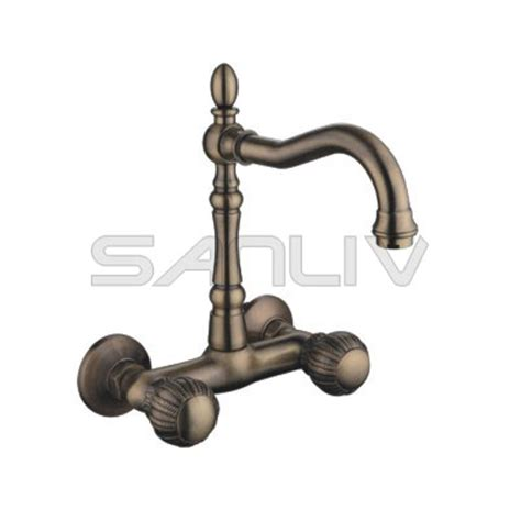 Kitchen Wall Faucets by Wall Mount Faucet Sanliv Kitchen Faucets And Bathroom