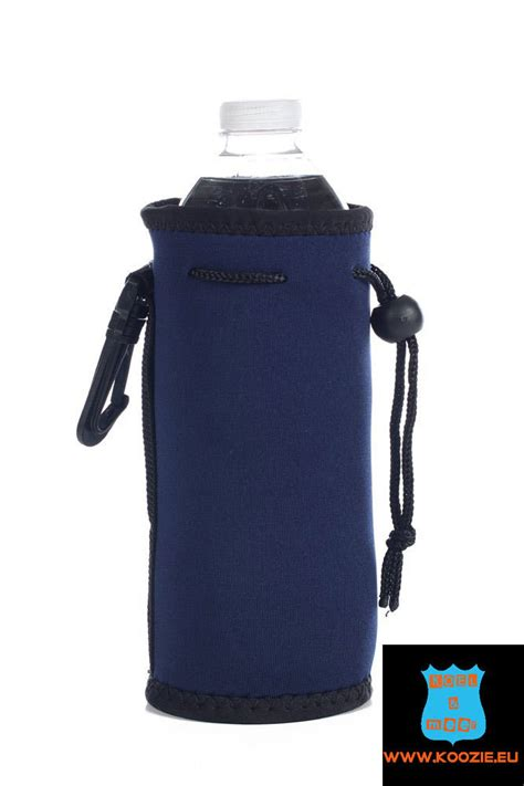 coole wandlen bottle cooler flesjes koel hoes navy blauw geniet langer