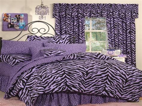 Purple Zebra Print Bedroom Decor Bloombety Purple Zebra Print Decor For Bedroom Zebra