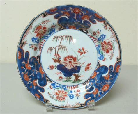 Porcelain Plate beautiful early 18th c antique export imari